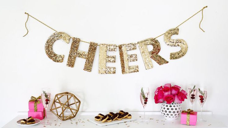Diy wednesday decorating for your bachelorette party for Bachelor party decoration