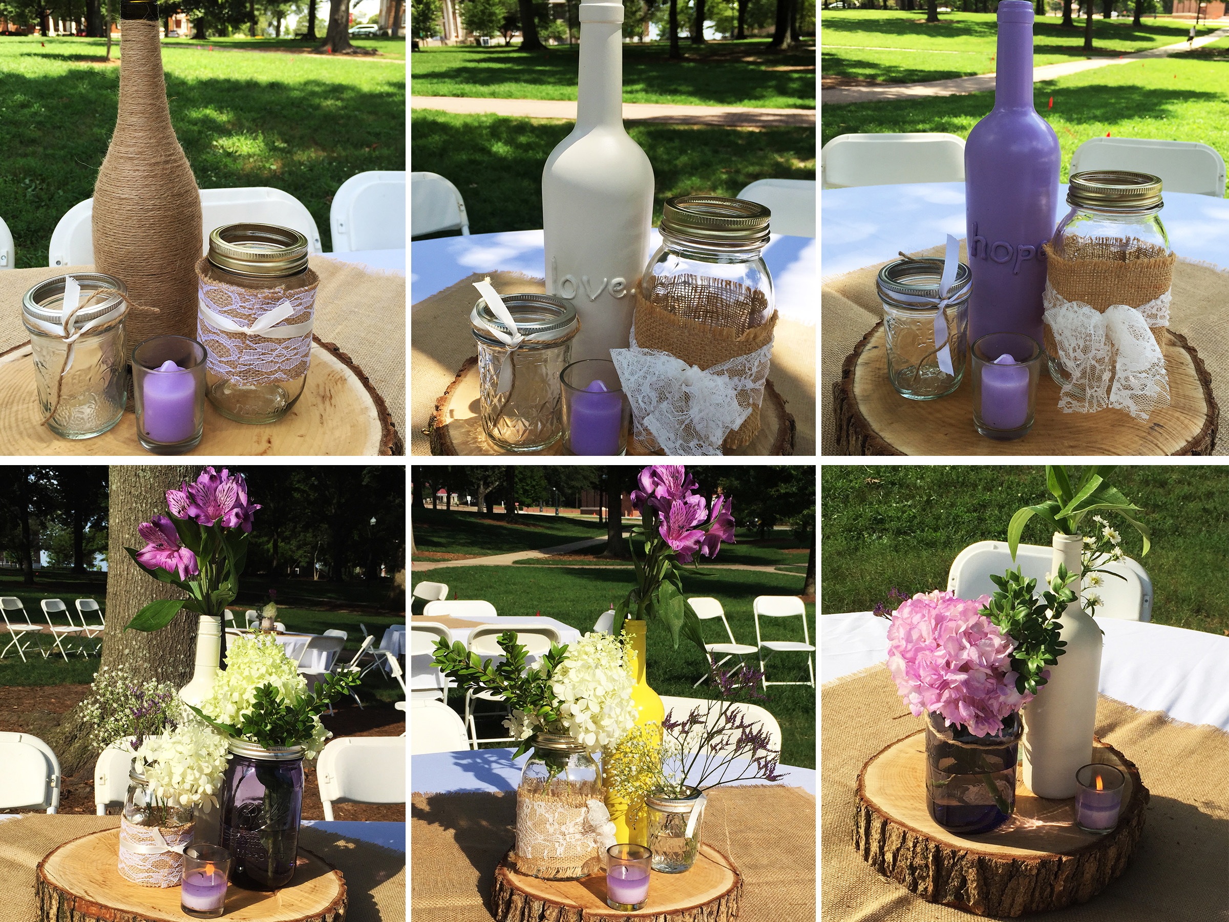 Do it yourself wedding decorations from pinterest that pinterest diy junglespirit Choice Image