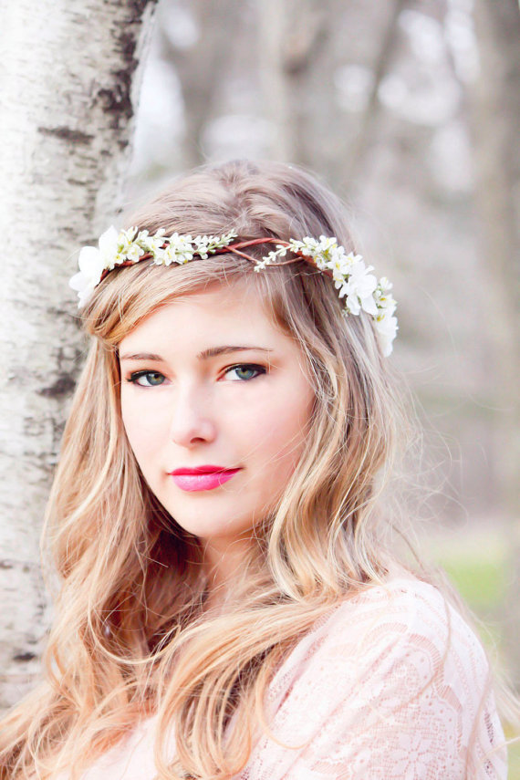 Etsy Floral Crown